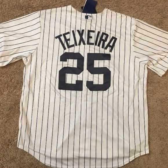 huge selection of def25 6e987 New York Yankees jersey Mark Teixeira jersey NWT